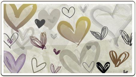 Hand Drawn Hearts 2 by ammmy