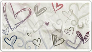 Hand Drawn Hearts 3