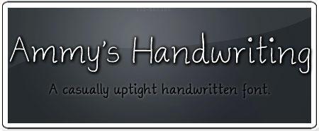 Ammys Handwriting