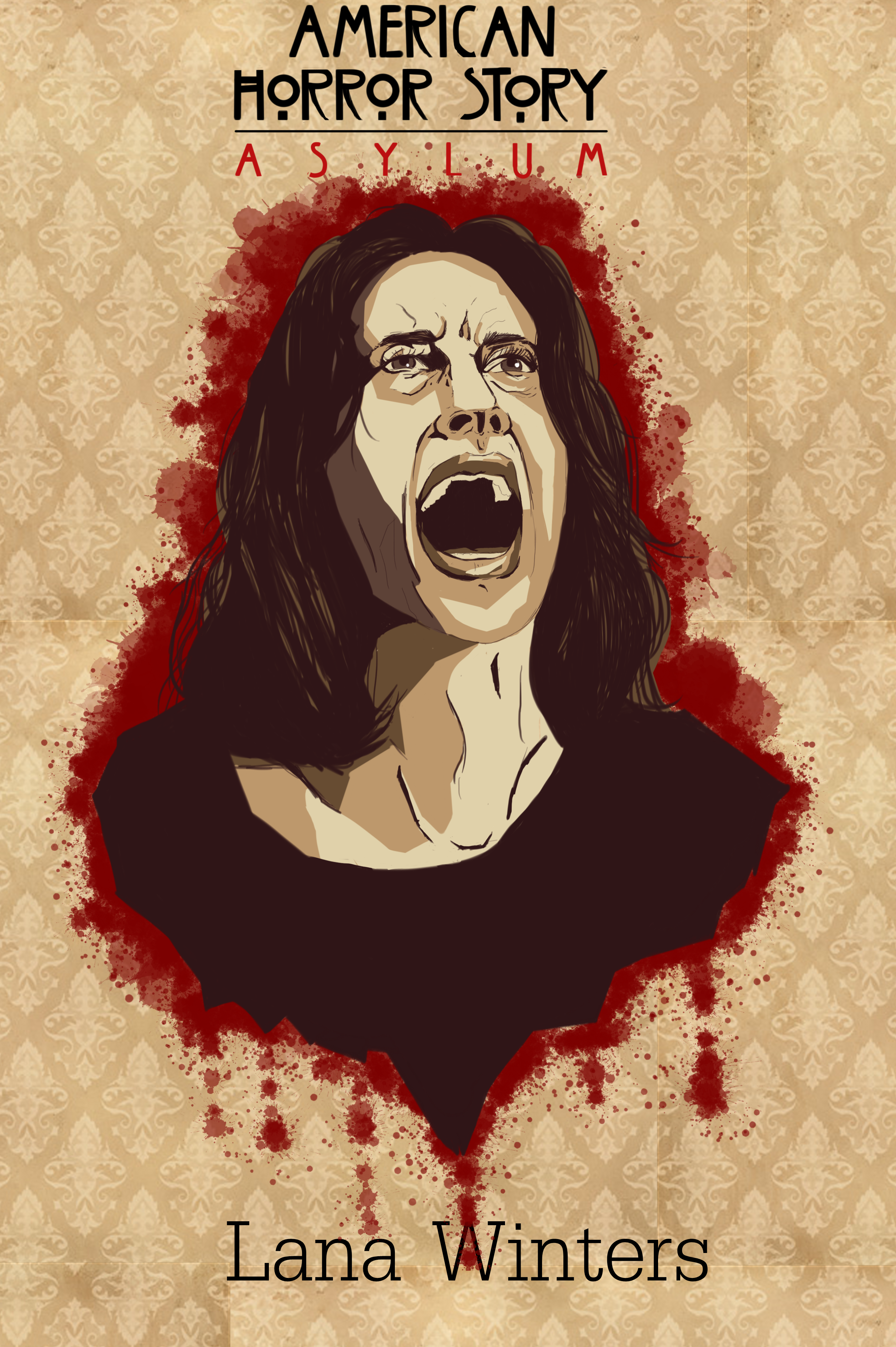 American Horror Story Asylum 4 By Zates1433 On Deviantart