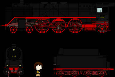 Walfas Custom Prop - DRG Class 01 Steam Locomotive