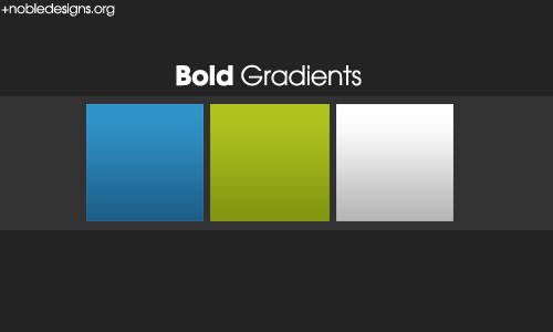 BOLD gradient pack