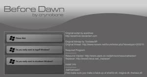 XP B4 Dawn Logoff Dialog