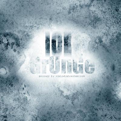 Ice Grunge Brush Set by Xsel04