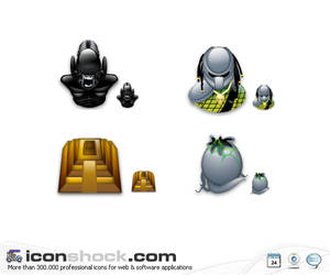 Alien Vs Predator sigma icons