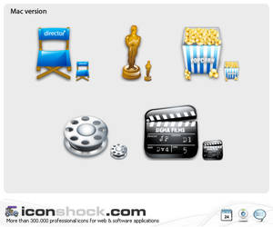 Filming web icons