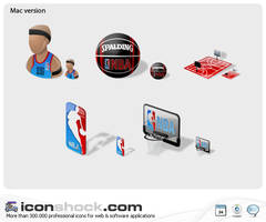 NBA web icons