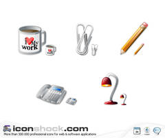 Office Vista icons by Iconshock