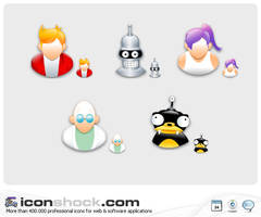 Futurama application Icons MAC by Iconshock