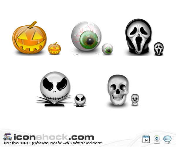 Halloween Vista Icons for WIN by Iconshock