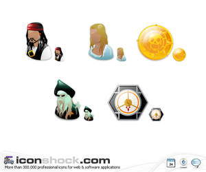 Pirates of the Caribbean Icons