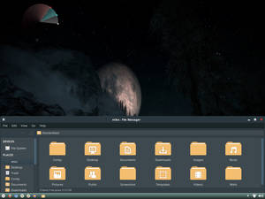 Zukida (Zukitwo Dark) Theme for Xfce Desktop