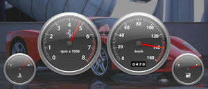 Dashboard Gauges by 7unw3n
