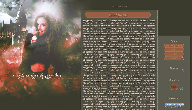 Szablon by Weasleyowa numer 1219 by Weasleyowa