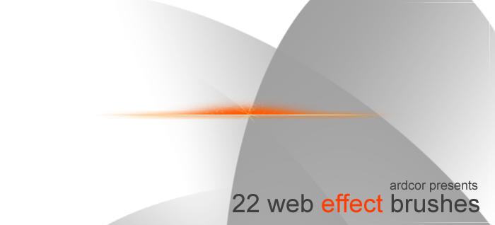 22 Web 2.0 effect brushes by ardcor