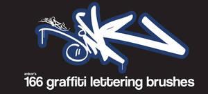 166 Graffiti Alphabet letters