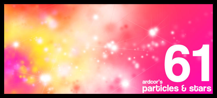 61 Particles and Stars Brushes by ardcor