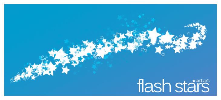 Flash Stars Brush Set by ardcor