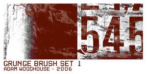 Grunge Brush Set 1