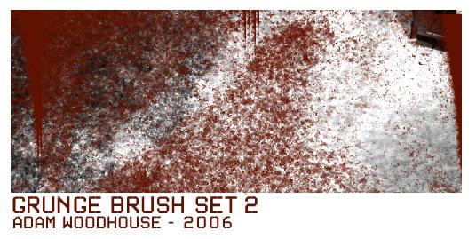 Grunge Brush Set 2 by ardcor