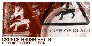 Grunge Brush Set 3