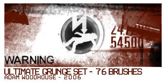 The Ultimate Grunge Brush Set by ardcor