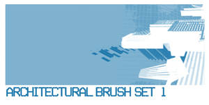Architectural Brush Set 1