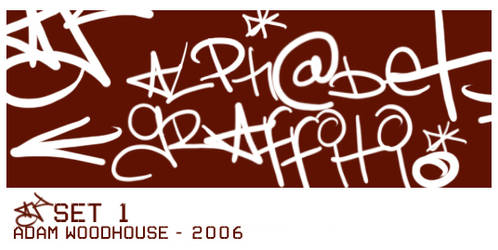 AJ Graffiti Set 1 by ardcor
