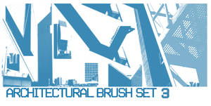 Architectural Brush Set 3