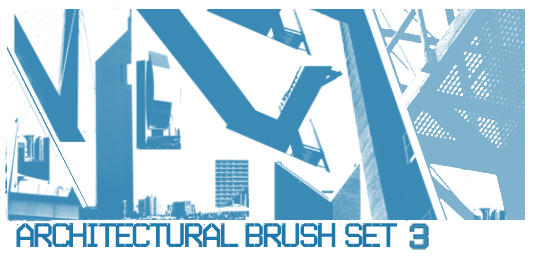 Architectural Brush Set 3 by ardcor
