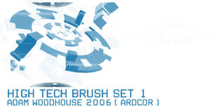 High Tech Brush Set 1 by ardcor
