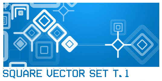 Square Vector Set T.1