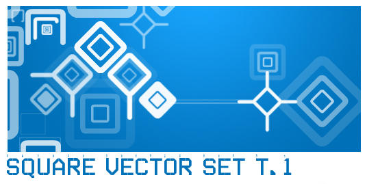 Square Vector Set T.1 by ardcor