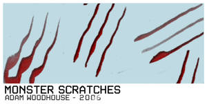 Monster Scratches