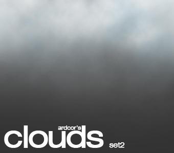 Clouds Brush Set 2 SAMPLER by ardcor