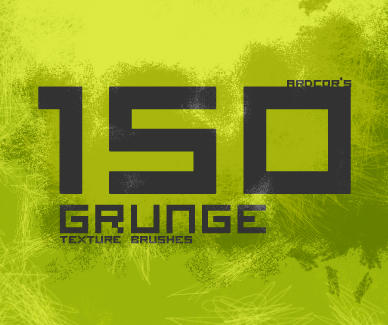 Grunge Texture Brushes SAMPLER by ardcor