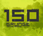 Grunge Texture Brushes SAMPLER