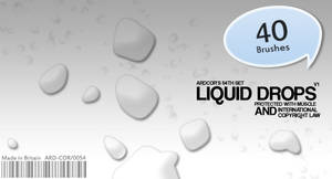 LIQUID DROPS by ardcor