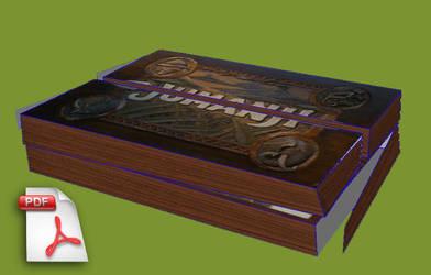 Jumanji Papercraft