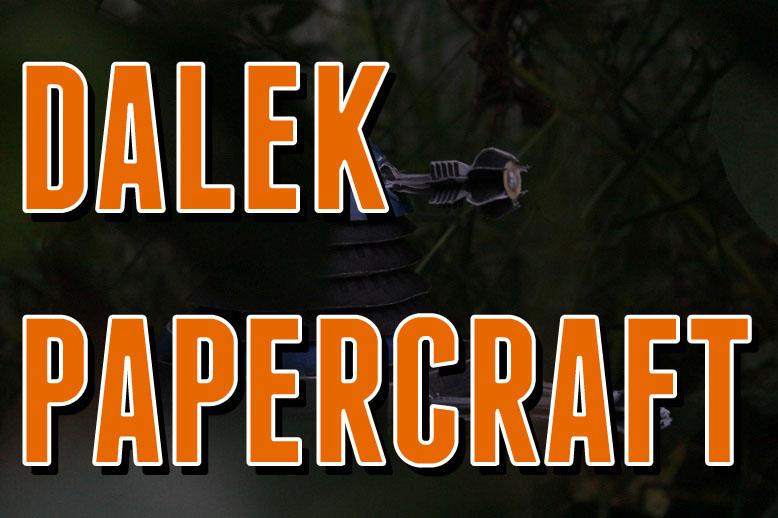 Dalek Papercraft - Orange by Audrey-2