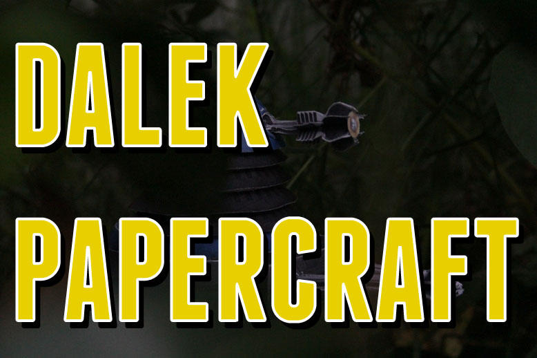 Dalek Papercraft - Yellow by Audrey-2
