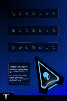 Neo Alien Cursor + 4 Colors