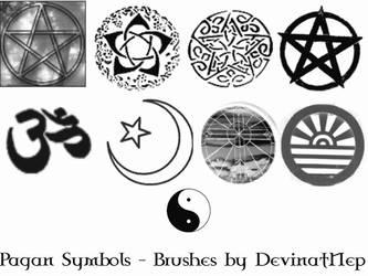 Pagan Symbols Brushes 5.0 by DeviantNep