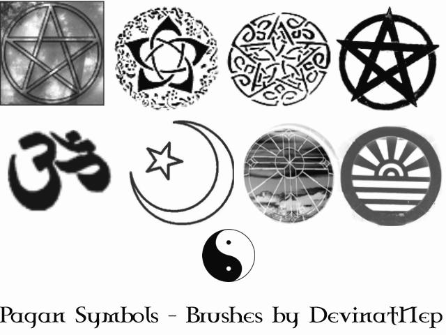 Pagan Symbols Brushes 50 By Deviantnep On Deviantart