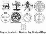 Pagan Symbols Brushes 6.0