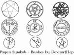 Pagan Symbols Brushes 7.0