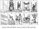 Waite Tarot Brushes 4