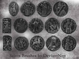 Catholic Saints Brushes