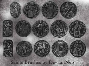 Catholic Saints Brushes