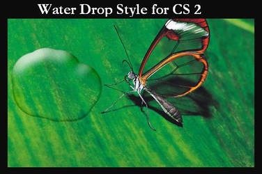Water Drop Style for PS CS2 by DeviantNep
